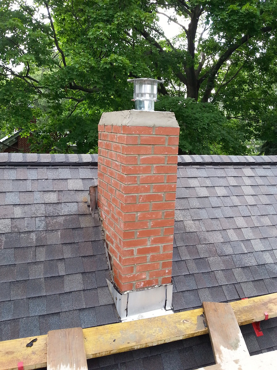 After-Chimney Repair