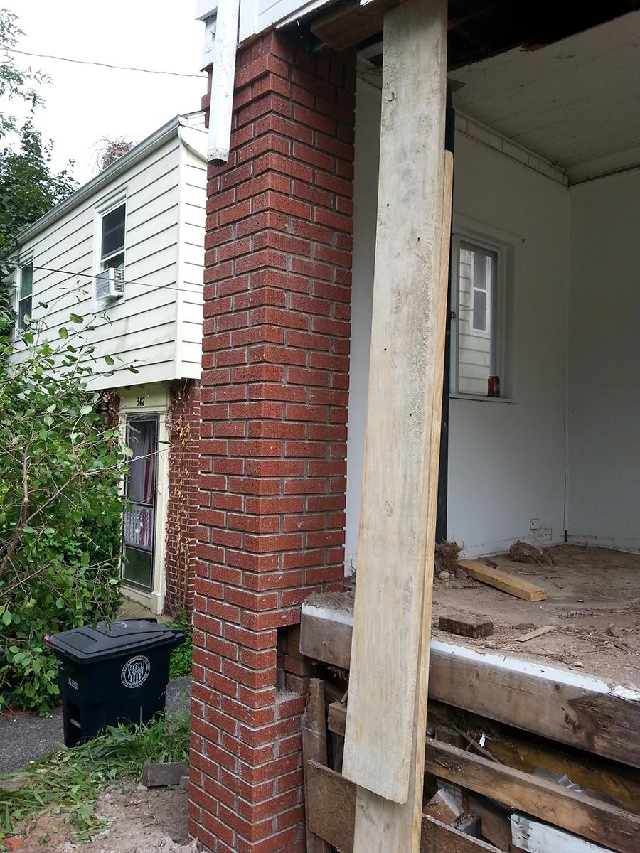 After-Stone Column Repair & Build