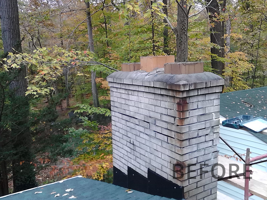 Before-Another Chimney Repair