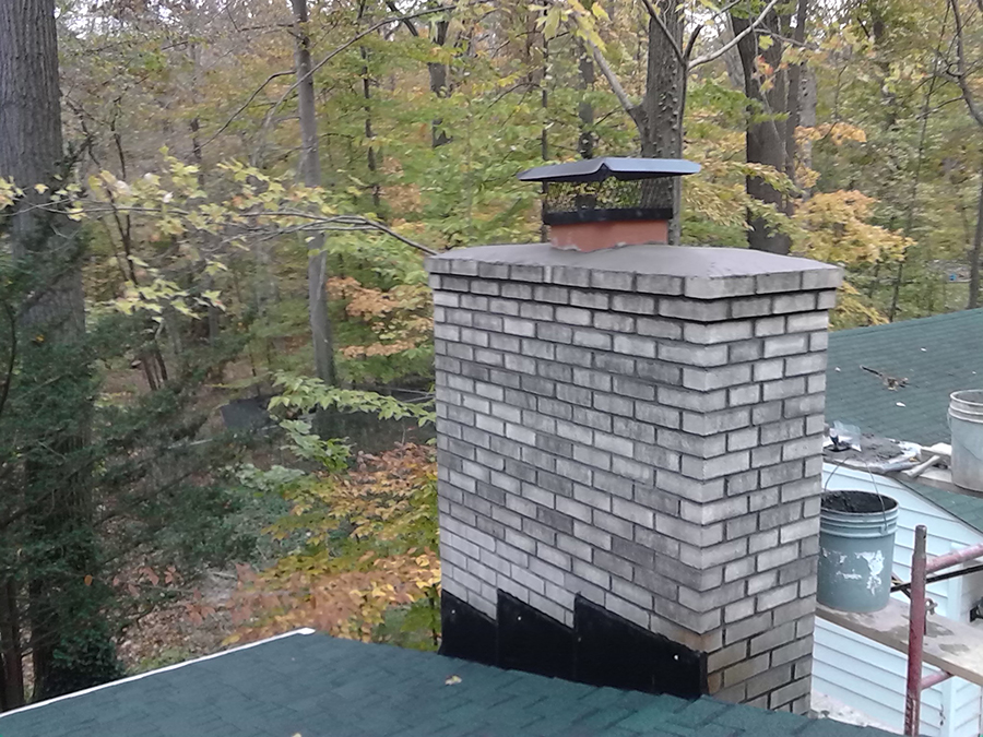 After-Another Chimney Repair
