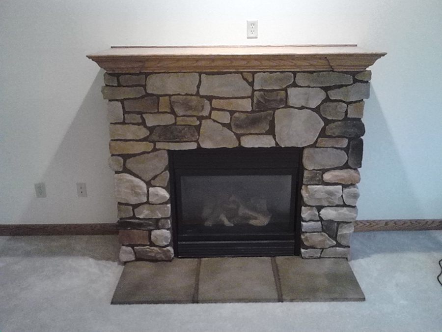 After-Fireplace Refacing